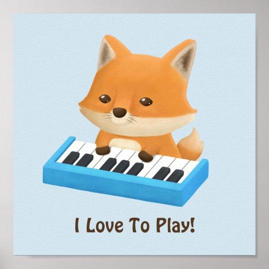 Pocos amores del Fox para jugar el poster de la Póster
