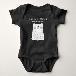 Pocos animales del bosque del oso body para bebé