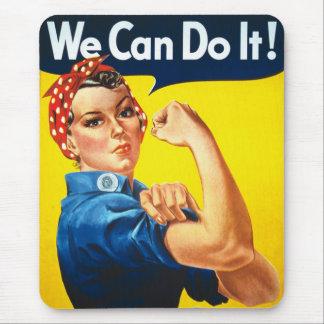 ¡Podemos hacerlo! Alfombrilla De Ratón