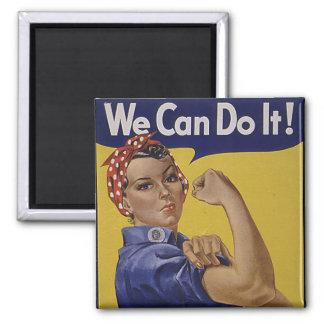 ¡Podemos hacerlo! La historia de las mujeres Imán Cuadrado