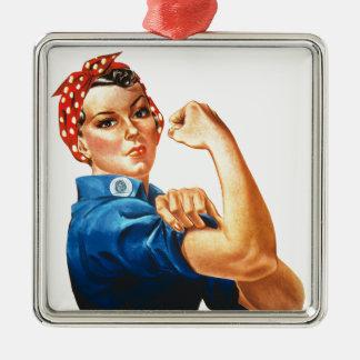 Podemos hacerlo Rosie que las mujeres del Adorno De Cerámica