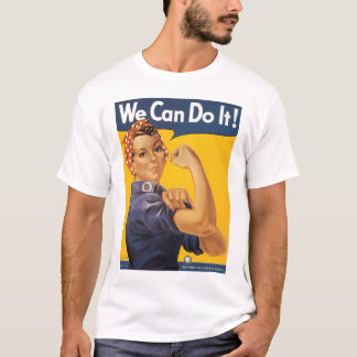 Podemos hacerlo Segunda Guerra Mundial Camiseta