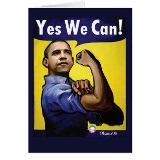 ¡Podemos sí! Tarjeta
