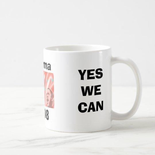 ¡PODEMOS SÍ! TAZA DE CAFÉ