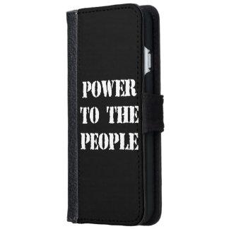 Poder a la gente carcasa de iPhone 6