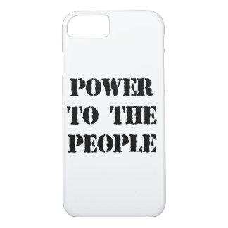 Poder a la gente funda iPhone 7
