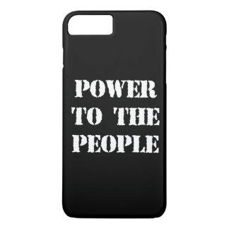 Poder a la gente funda iPhone 7 plus