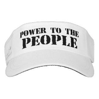 Poder a la gente visera