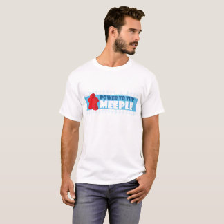 Poder al Meeple - el T de los hombres Camiseta