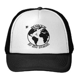 poder al planeta gorra