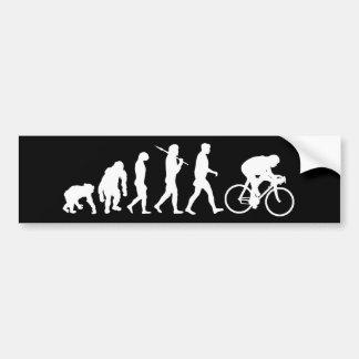 Poder de ciclo del pedal de los ciclistas que comp pegatina para coche