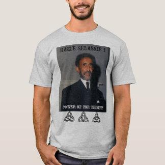 Poder de Haile Selassie I de la trinidad Camiseta
