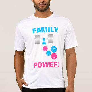 Poder de la familia de la fruta de la familia camiseta