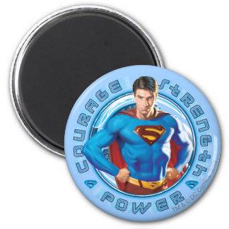 Poder de la fuerza del valor del superhombre iman para frigorífico