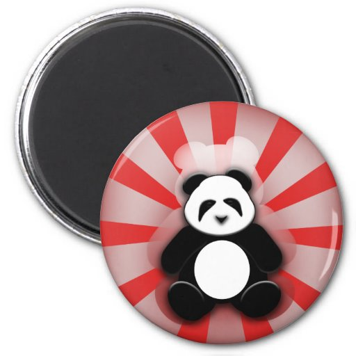 ¡Poder de la panda! Imán