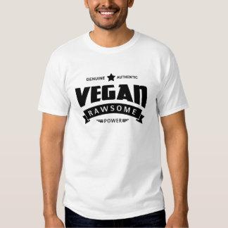 Poder de Rawsome del vegano Camisetas