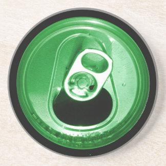 Poder de soda verde irlandesa posavasos manualidades