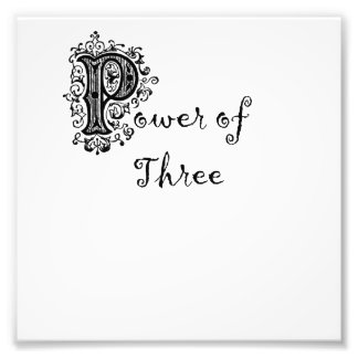 poder de tres foto