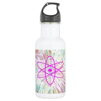 Poder del alma: Diseño artístico de energía solar Botella De Agua