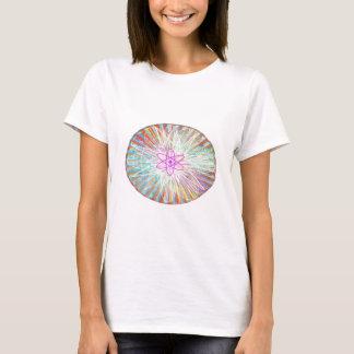 Poder del alma: Diseño artístico de energía solar Camiseta