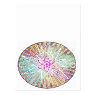 Poder del alma: Diseño artístico de energía solar Postal