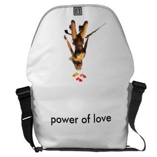 poder del amor bolsa messenger