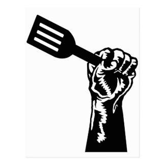 Poder del cocinero postal
