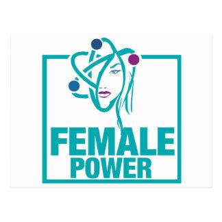 Poder femenino postal