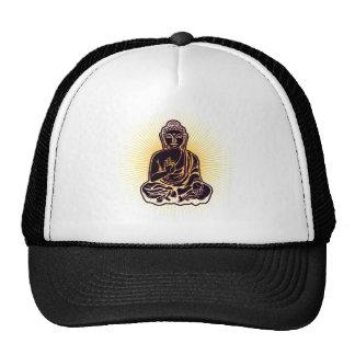 Poder negro de Buda Gorro De Camionero