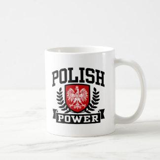 Poder polaco tazas