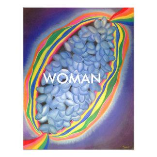 Poder primordial en cada impresión de la mujer arte fotografico