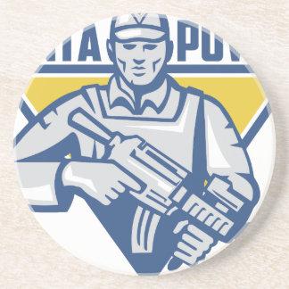Poder ucraniano de la junta del ejército posavasos