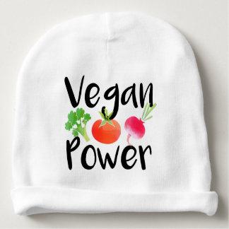 """""""Poderes del bebé del vegano """" Gorrito Para Bebe"""