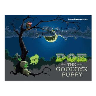 Poe adiós las postales del perrito
