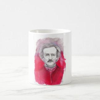 Poe to take away by CalaveraDiablo Taza De Café
