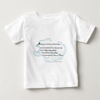 Poema de la ameba camiseta de bebé