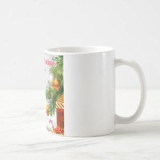 Poema del padre - diseño del navidad tazas de café