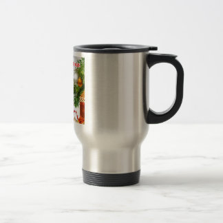 Poema del padre - diseño del navidad taza de café