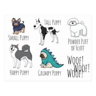 Poema del perrito postal