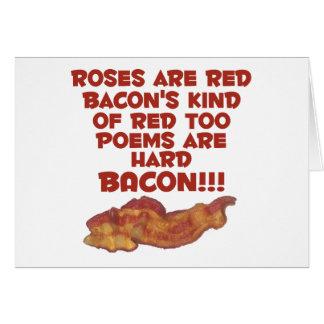 Poema del tocino tarjeta de felicitación
