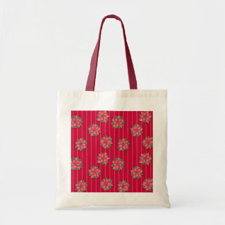 Poinsetta Joy red poinsettias Bag