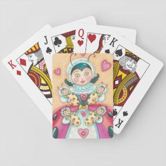 Póker de los NAIPES de la mamá de las mariquitas