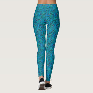 Polainas azules persas leggings