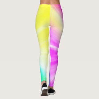Polainas coloridas brillantes leggings