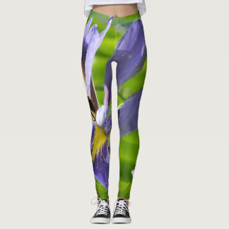 Polainas con el iris leggings
