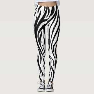 Polainas curvadas negro leggings