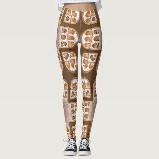 Polainas de docena arcos leggings
