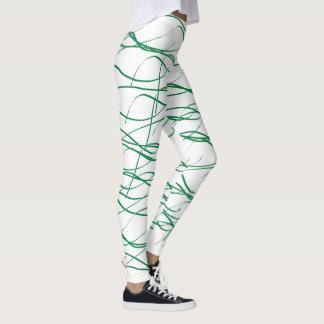Polainas de entrelazamiento leggings
