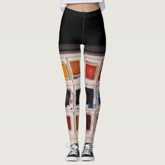 Polainas de la acuarela leggings