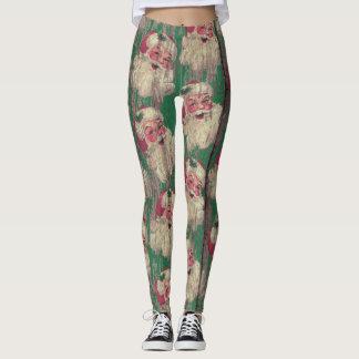 polainas de la antigüedad del vintage del día de leggings